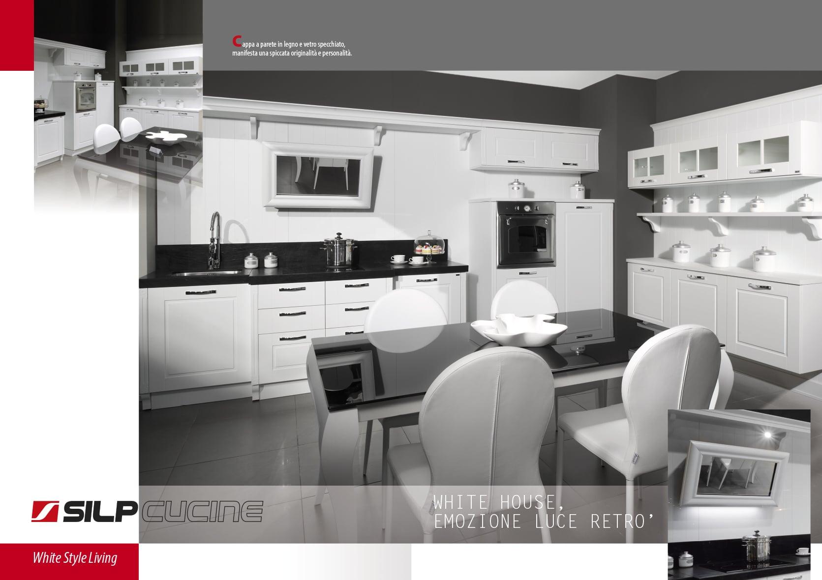 grafica brochure silp cucine ernesto di luciano